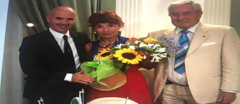 Passaggio delle consegne 2018 Alberto Bagnasco – 2019 Gianfranca Tempestini