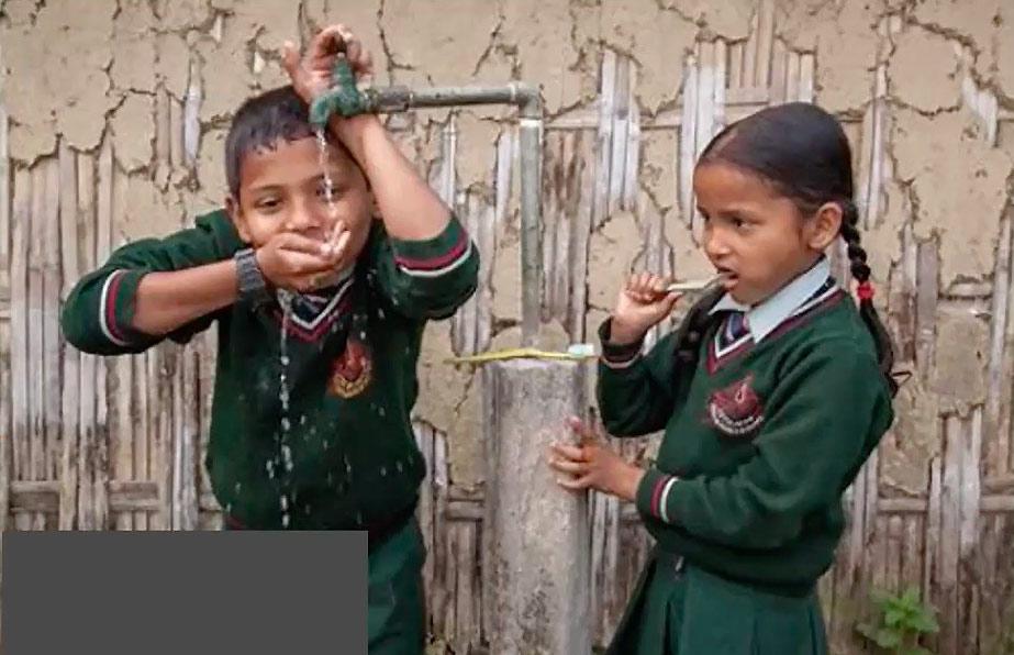 R.C. Genova Lanterna porta la luce in Nepal, nella provincia rurale del Shivapuri